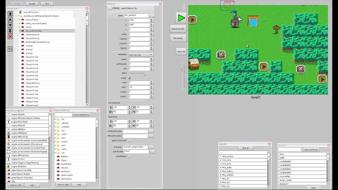 Flash Game Editor