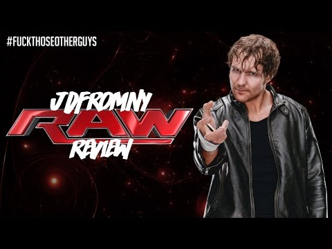 WWE Raw 12/21/15 Review: Slammy Awards 2015, Sheamus vs Dean Ambrose Steel Cage Match