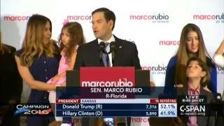 Marco Rubio Victory Speech 2016