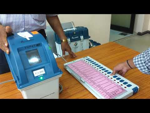 LATEST EVM MACHINE DEMO 2018