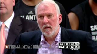 "Gregg Popovich Tells Danny Green to ""shut the f— up"""
