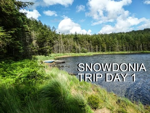 """Snowdonia Wild Camping Solo Trip Day 1 """"Dealing With Solitude"""""""