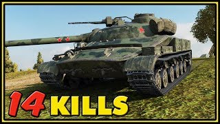 Object 907 - 14 Kills - World of Tanks Gameplay