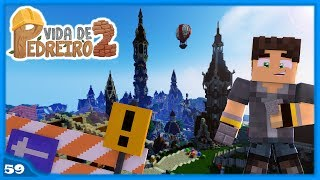 Minecraft: Dicas para Fazer Torres e Telhados - VIDA DE PEDREIRO #59