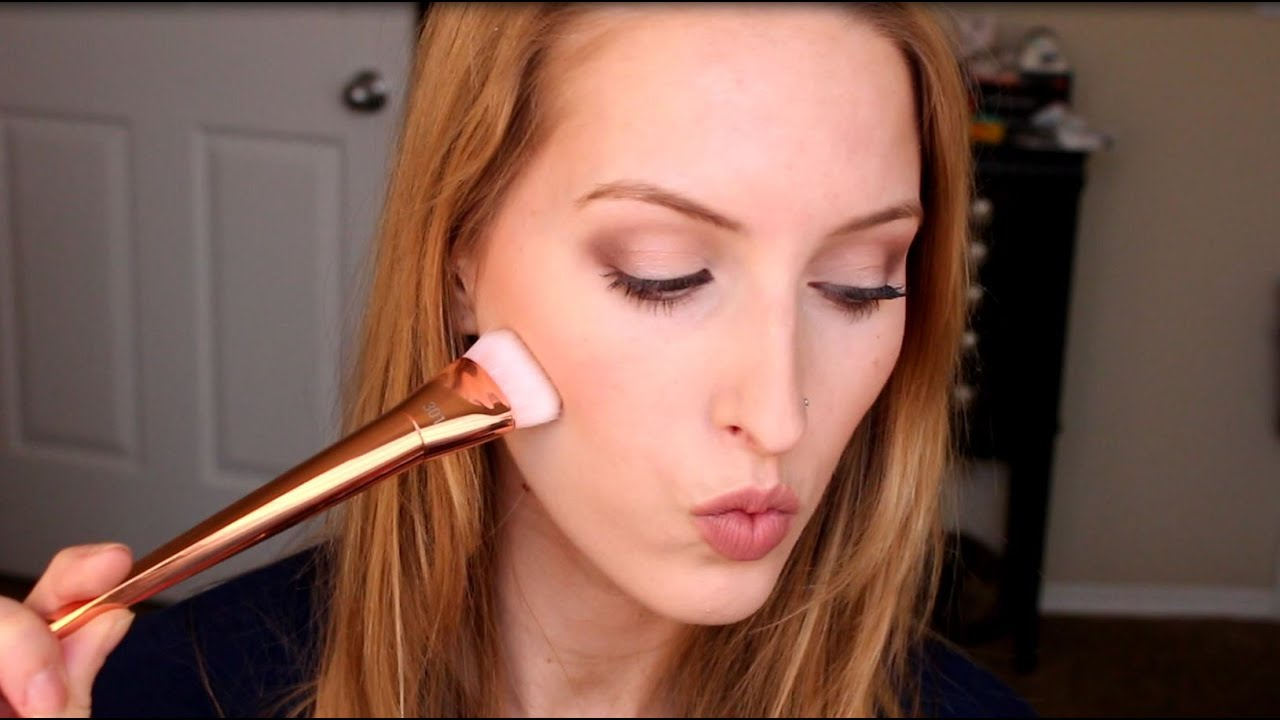 real techniques bold metals contour brush. best drugstore makeup brush? first impression of real techniques bold metals 301 flat contour brush - youtube n