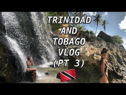 TRINIDAD AND TOBAGO VACAY VLOG (PT 3) | Adventure to Argyle Waterfalls