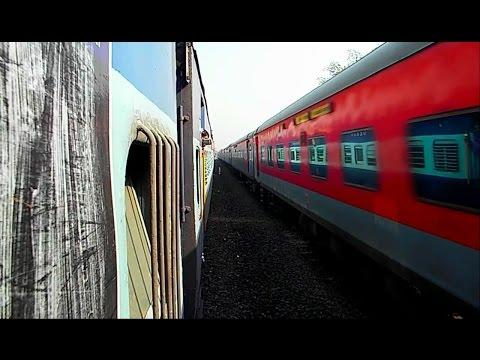 Journey to Goa Part - 5 (Indian Railway) : Konkan Railway, Crossings, Arrival, Departure till Thivim
