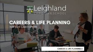 Year 11 & 12  - Careers and Life Planning  (Dianne de Deuge)