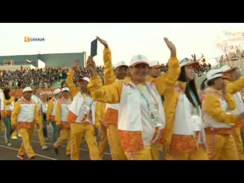 """Торжественное открытие VI Международных Игр """"Дети Азии"""" 2016"""