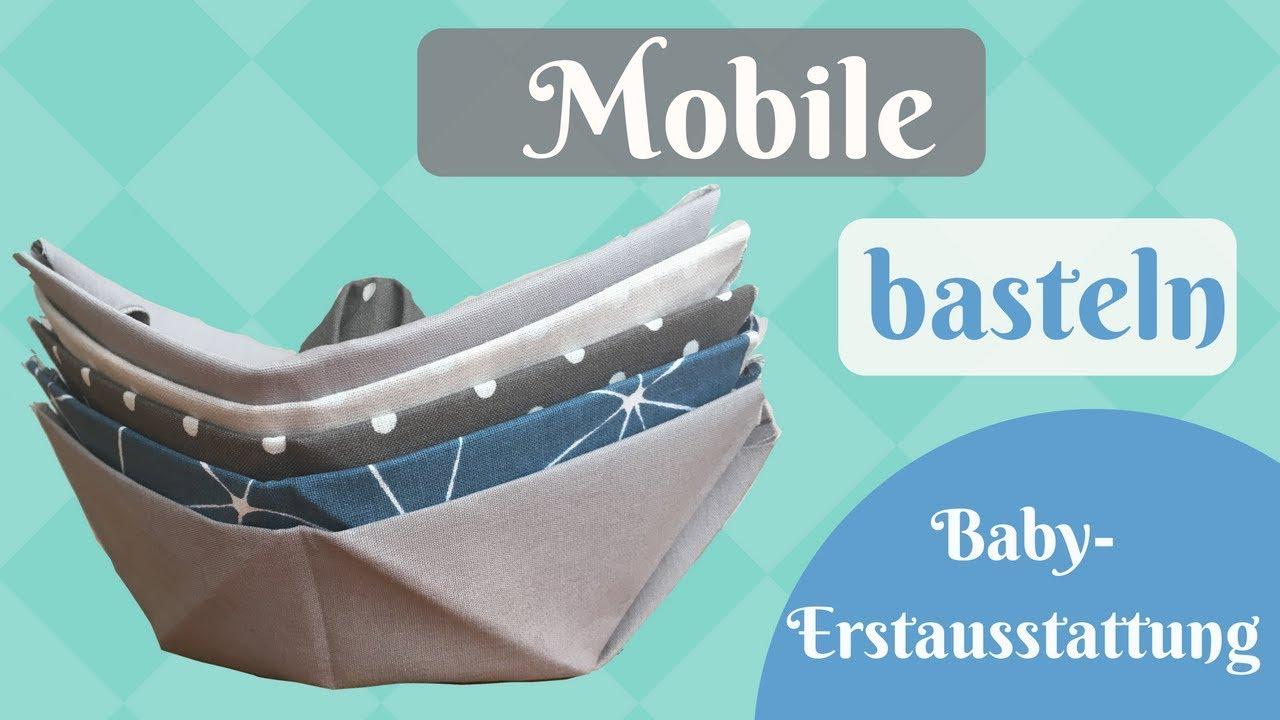 Baby Mobile Fur Die Babyerstausstattung Basteln Schnelle