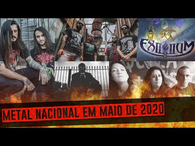 Lançamentos do METAL NACIONAL | Vol. 3 | Maio de 2020