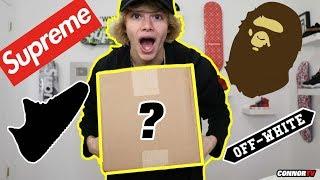 Hypebeast Mystery Box Sneaker Streetwear Christmas Giveaway!
