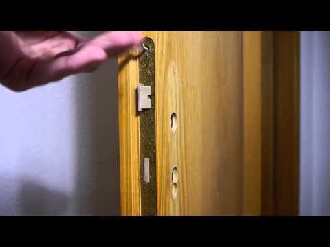 Zimmerturschloss Wechseln Ausbauen Anleitung Full Hd Youtube