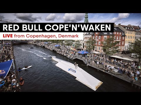Red Bull Cope'n'waken LIVE from Copenhagen