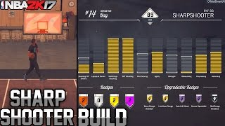 NBA 2K17 MyCareer Attribute/Badge Update: SHARPSHOOTER SHOOTING GUARD