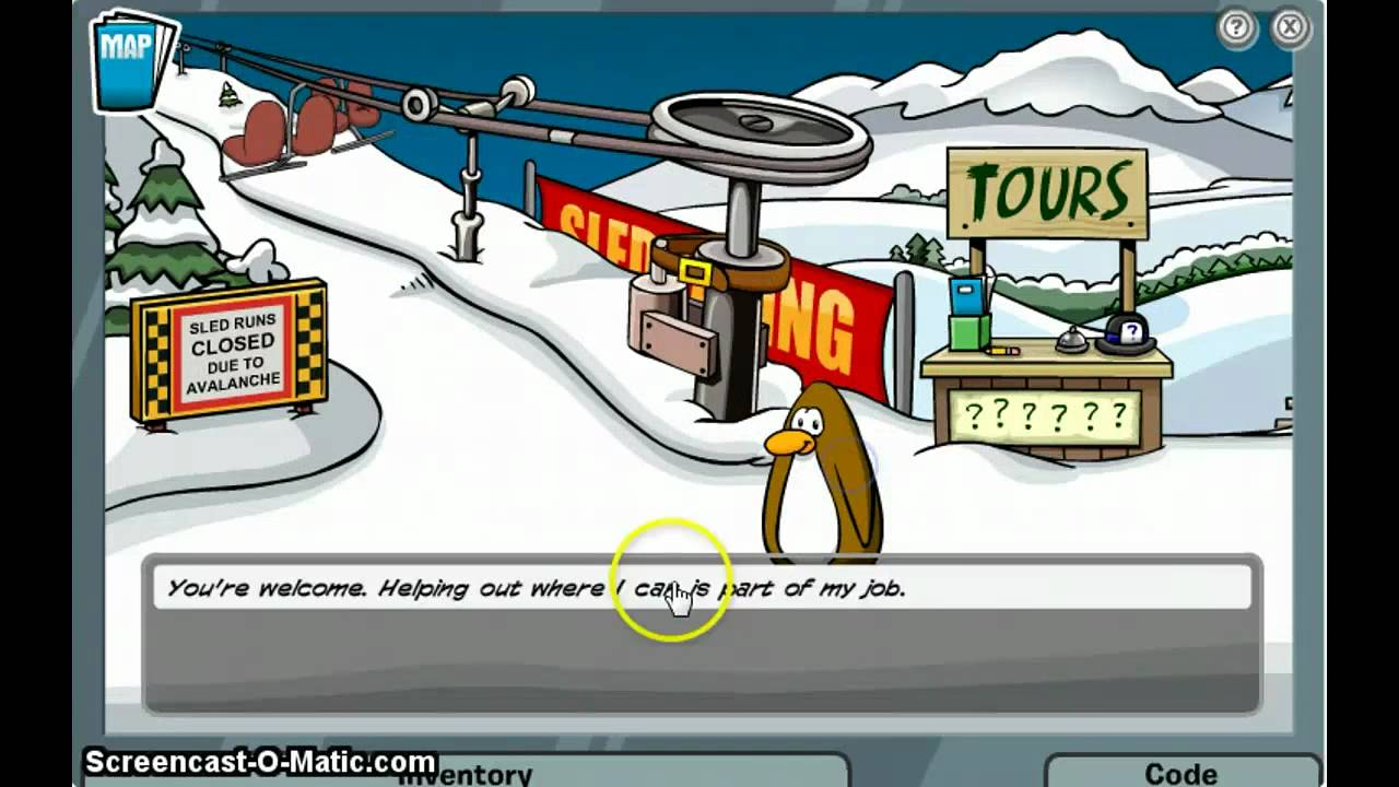 club penguin mission 4 saving penguins [ 1280 x 720 Pixel ]