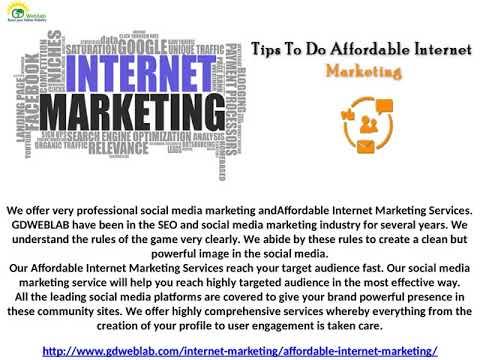 GDweblab Affordable Internet Marketing Company