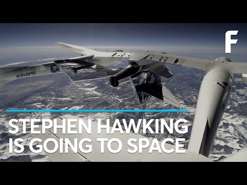 It's Official: Stephen Hawking Is Going to Space