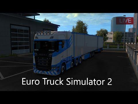 [LIVE/FACECAM/PC] Euro Truck Simulator 2 Notre Premier Camion ? #3