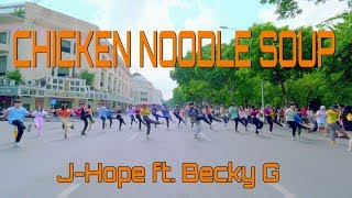 KPOP IN PUBLIC J hope & 39 Chicken Noodle Soup feat Becky G & 39 Dance Cover by FGDance from Vietnam