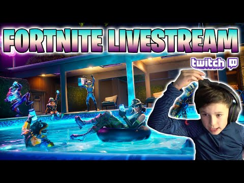Fortnite LIVESTREAM Replay!