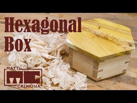 Hexagonal Dovetailed Box