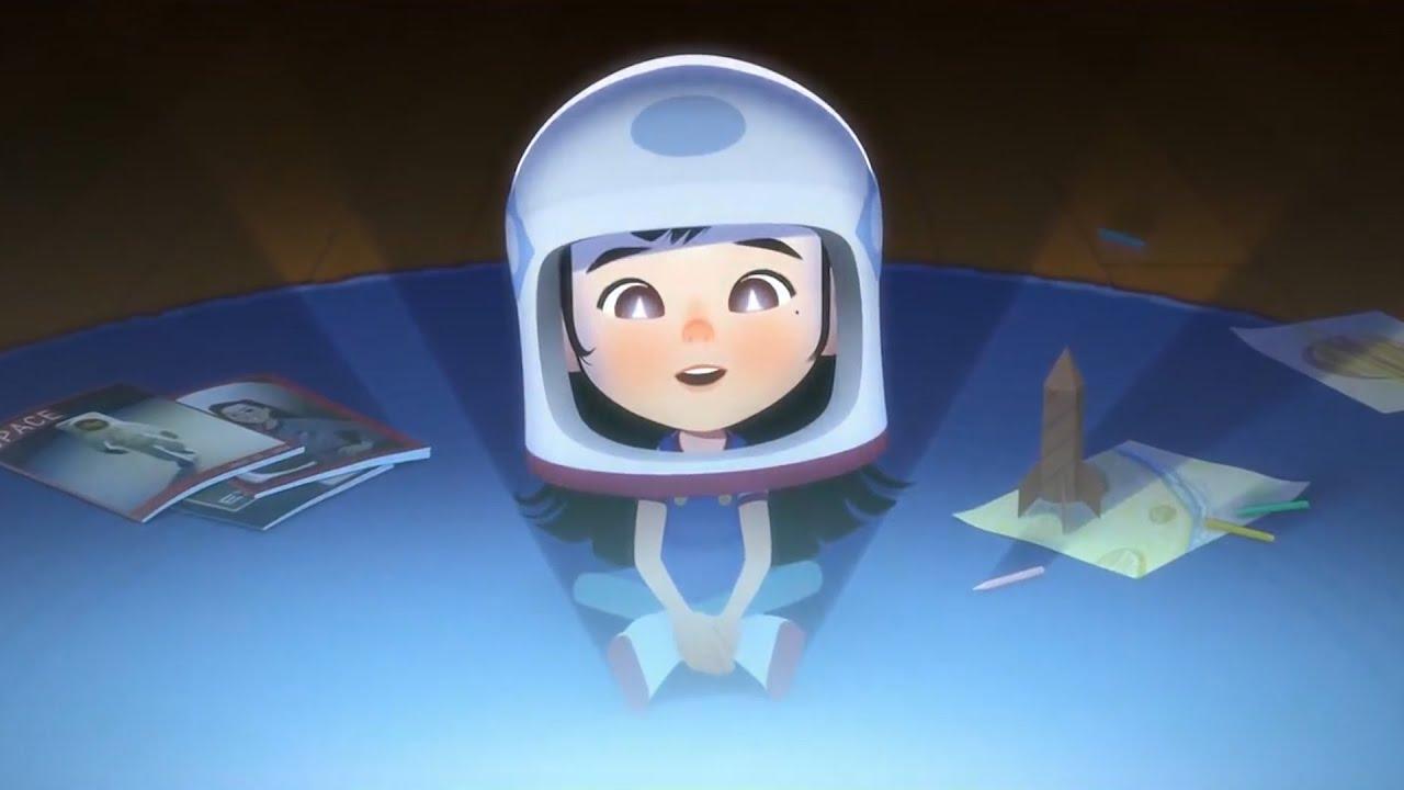 女孩从小有一个宇航员的梦想,不断往前奔跑,却忘记了无言的父爱