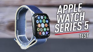 Test complet de l'Apple Watch Series 5