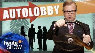 Die Politik kuscht vor der Autolobby | Martin Klempnow: Der Lobbyist | heute-show