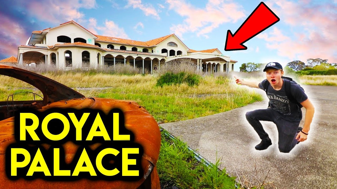 Found Abandoned ROYAL PALACE on a MOUNTAIN! (HUGE)