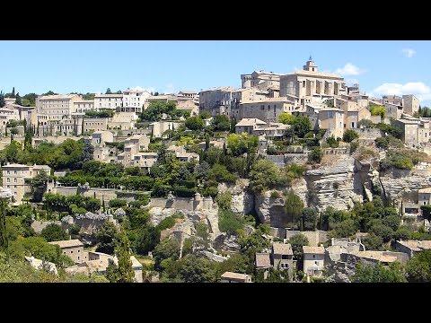 Gordes (Sénanque, Bories), un des plus beaux villages de France HD