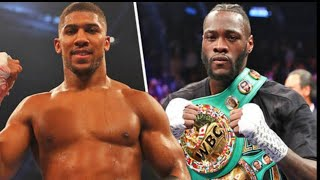 BREAKING NEWS: ANTHONY JOSHUA OFFERS DEONTAY WILDER A POSSIBLE 28$ MILLION DOLLAR OFFER, FOR 4/13/19