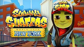 SUBWAY SURFERS GAMEPLAY FULLSCREEN - NEW YORK - ZOMBIE JAKE AND 30 MYSTERY BOXES OPENING