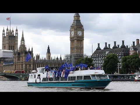 [Watch again] British MPs discuss crucial Brexit legislation