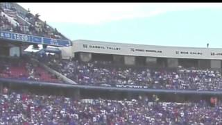 Jim Ross Announcing Fan Falling From Upper Deck At Ralph Wilson Stadium