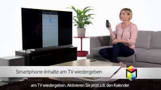 Samsung SMART TV - Screen Mirroring [Video Tutorial 2013]