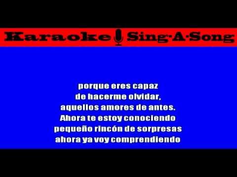 KARAOKE Jose Luis Rodriguez - No Te Pareces A Nadie