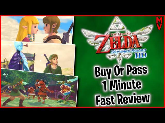 Legend Of Zelda Skyward Sword Hd Review #shorts Mumblesvideos