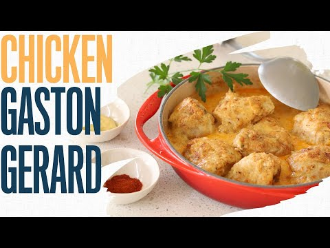 Chicken Gaston Gerard: Learn the history and make the dish    Famous French chicken recipe