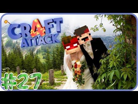 💒 Die Hochzeit beginnt � - CraftAttack 4 #27 mit ALLEN
