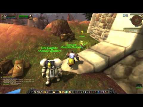 WoW Quest #2771 A Strange Historian