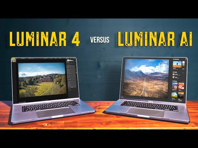 Luminar AI vs Luminar 4 // Worth The Upgrade?