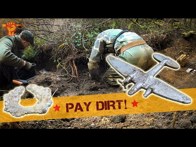 We dig up LOADS of WW2 relics on Wehrmacht soil!