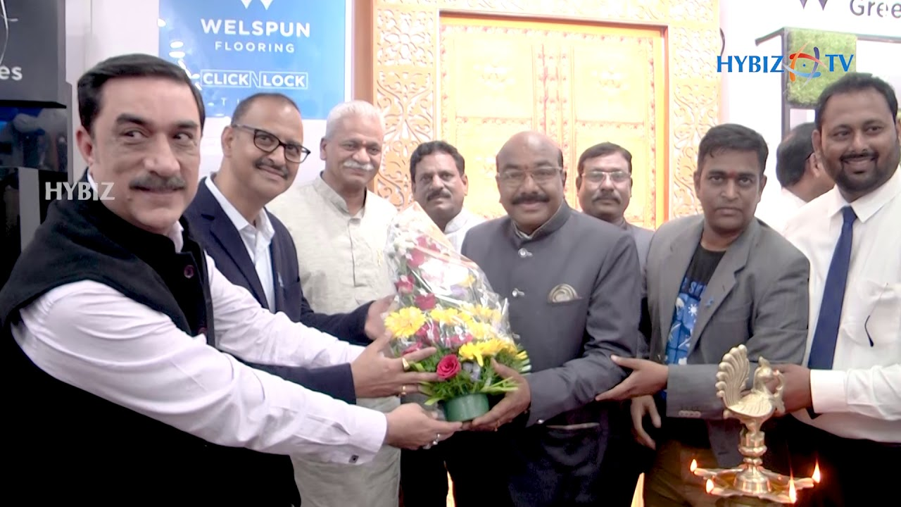Welspun Flooring Opens Flagship Store In Hyderabad Youtube