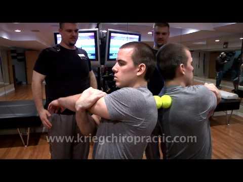 Tennis Ball Rolling Exercises For Upper Back Pain