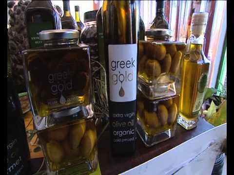 Greek Gold Olive Oil & Olives