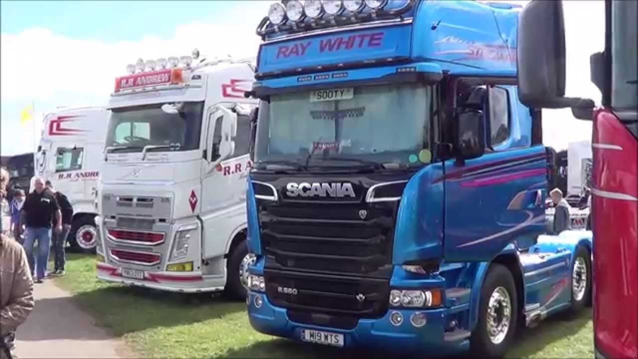 Daf Scania Truckfest 2015 Peterborough Part 1 Scania Volvo Daf Mercedes Semi Trucks Broke Fmx