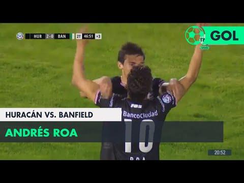 Andrés Roa (3-0) Huracán vs Banfield | Fecha 5 - Superliga Argentina 2018/2019