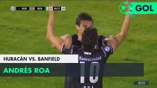 Andrés Roa (3-0) Huracán vs Banfield   Fecha 5 - Superliga Argentina 2018/2019
