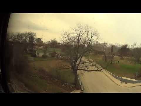 Amtrack Hart land Flyer Oklahoma City to Fortworth Tx 3-11-2018